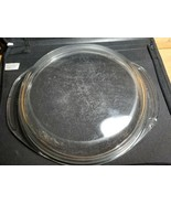 Pyrex Lid Only 684C A-L Clear Glass with handles - $8.81