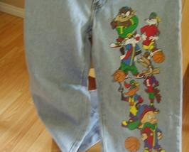 Vintage - Looney Tunes Space Jam Jeans image 1