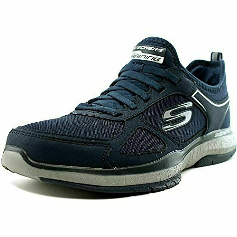 Pre2 Skechers Men's Burst Athletic Shoes Air Cooled Memory Foam Navy size 9