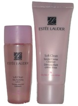 Estee Lauder Soft Clean Tender Creme Cleanser and Silky Hydrating Lotion... - $17.98