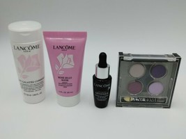 Lancome Lot of 4 Genfinique Lait Galatee Confort Rose Jelly Mask Eye Shadow - $19.77