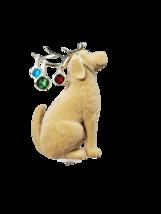 Bath and Body Works Yellow Labrador Dog Lights Fuzzy Wallflower Warmer Plug - $19.89