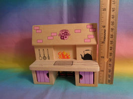 Melissa & Doug Princess Castle Wood Doll Furniture Replacement Kitchen Stove image 7