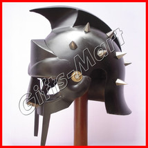 GLADIATOR HELMET Medieval Roman Greek MAXIMUS Helmets Armor New Year Xma... - $46.38