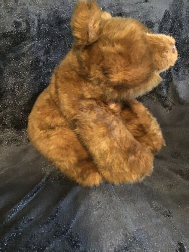 "Gund Collectors Classic Teddy Bear Vintage 1987 Large 20"" Brown Walking Sitting image 3"