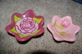 PartyLite 2 Rose Nest Tealight Set Party Lite - $12.99