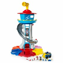 Paw Patrol My Size Lookout Tower W/ Exclusive Vehicles Rotating Periscope Lights - $230.67