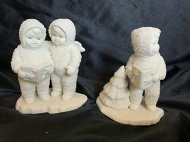 Department 56 Snowbabies #7942-1 Twinkle Little Stars Set of 2 Figurines - $24.99