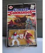 Rare Panosh Place Combat Commandos Battle Action Seivel Waist Action Fig... - $23.19