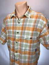 Paragonia XL Shirt Mens Short Sleeve Button Front Size XL  - $18.69