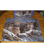 The PREDATORS Wolf puzzle F.X. Schmid 90136 1000 pieces Preowned - $10.95