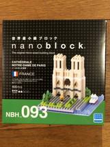 Kawada Nano block Notre Dame Cathedral NBH_093 Nanoblock New - $24.25