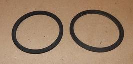"Camlock Kamlok Gasket Seals 3 3/8"" OD x 2 7/8"" ID x 1/8"" 2ea Rubber Wash... - $7.49"