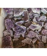Amethyst Uruguay Purple Geode Druze Small Rough Cluster Crystal 4 Per Lo... - $27.39