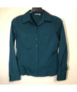Apt 9 Stretch Blouse Womens M Professional Office Work Business Interview - $29.69