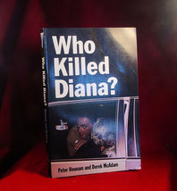 WHO KILLED DIANA? Hounam and McAdam first printing, new paperback - $19.60