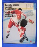 Twenty Seven Days in September World Hockey Canadians Russians USSR Red ... - $24.99