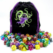 Bag of Devouring: 140 Polyhedral Dice in 20 Complete Sets - $40.31