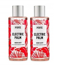 Victoria's Secret Pink Electric Palm Body Mist- Coconut Bronzed Amber- Lot of 2 - $35.99