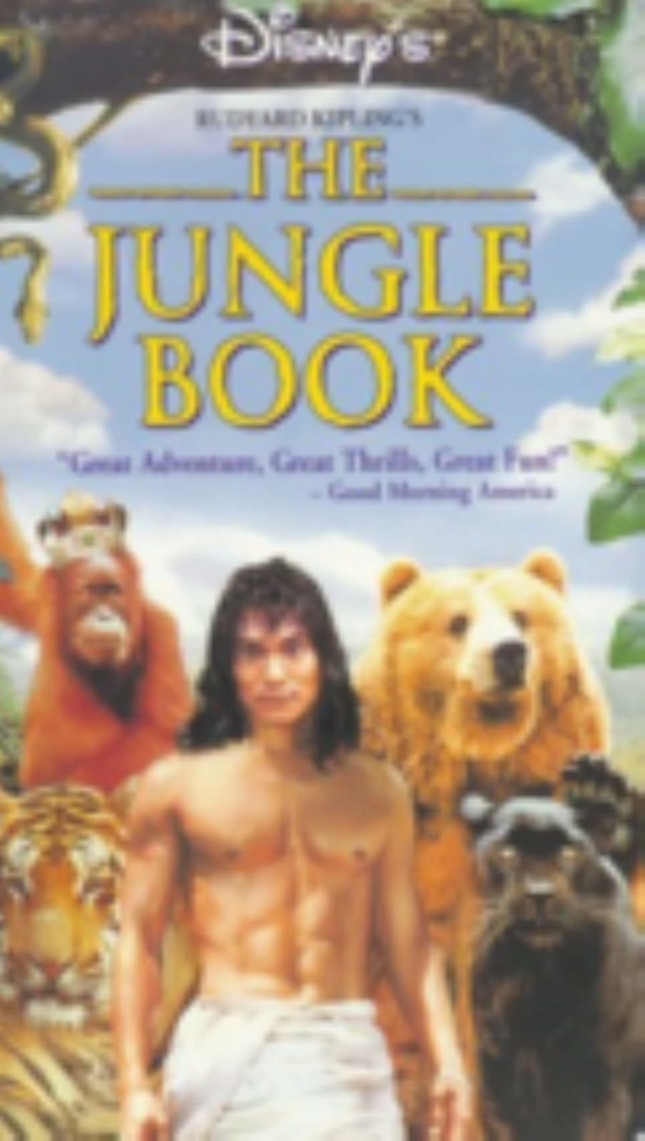 The Jungle Book Vhs