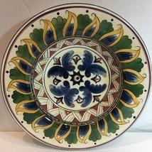 """Tabletops Unlimited """"DERUTA Hand-Painted Rim Soup Bowl 10 5/8"""" D - $18.80"""