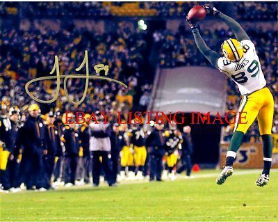 Primary image for JAMES JONES AUTO AUTOGRAPHED 8x10 RP PHOTO GREENBAY PACKERS LEGENDARY PLAYER
