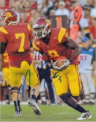 MARQISE LEE SIGNED AUTOGRAPHED AUTO 8x10 RP PHOTO USC TROJANS