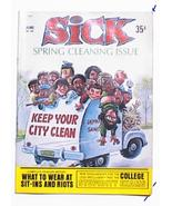 SICK Satire 35 cent Magazine No 68 Spring Cleaning Issue June 1969 Comic - $7.99
