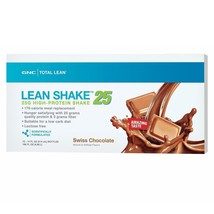 GNC Total Lean Lean Shake 25 Ready-to-Drink Meal Replacement - Swiss Cho... - $24.75