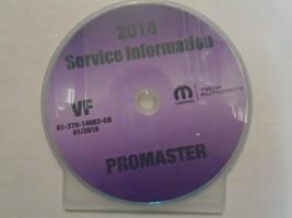 2014 DODGE RAM Promaster Service INFORMATION Shop Repair Workshop Manual... - $198.90
