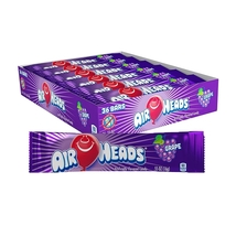 Airheads Grape 36 Count Candy Bulk Candies Taffy Chewy Airhead Air Head - $14.99