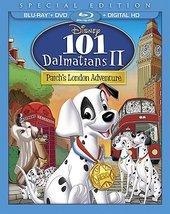 Disney 101 Dalmatians 2: Patchs London Adventure (Blu-ray/DVD, 2015, 2-Disc Set)