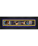 California Luthern University Officially Licensed Framed Campus Letter Art - $39.95