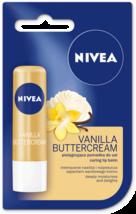NEW NIVEA Vanilla Buttercream 4.8g, Lip Balm, Shea Butter and Vanilla Scent - $5.60