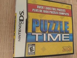 Nintendo DS Puzzle Time image 1