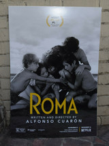 ROMA Movie Poster 2018 Alfonso Cuaron Signed 27 x 40 Unframed - $267.30