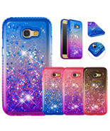 Shockproof Glitter Quicksand Bumper Bling Case Cover for Samsung Galaxy ... - $7.99