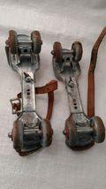 Metal Roller Skates Adjustable Primitive Farm Country Decor 2 Pairs Mid Century image 4