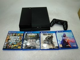 Sony PlayStation 4 CUH-1115A Console with Controller and Games Limited T... - $270.00