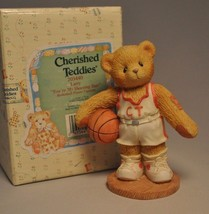 Cherished Teddies - Larry - 203440 - You're My Shooting Star - Basketball - $11.18
