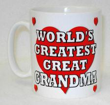 World's Greatest Great Grandma Mug Can Personalise Gran Granny Nan Birthday Gift image 3