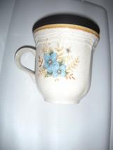 Set Of 4----GARDEN Club By Mikasa Day Creams Ec 461 Cup - $4.94