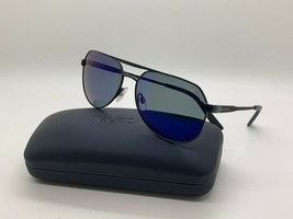 New Nautica N5125S 005  POLARIZED BLACK  Sunglasses 57mm w/Case - $44.59