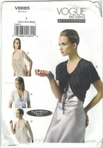 Vogue 8885 Elizabeth Gillett Pattern Shrug, Evening Wrap, Jacket Choose ... - $12.99