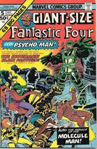 Giant-Size Fantastic Four Comic Book #5 Marvel Comics 1975 VERY FINE+ - $26.01