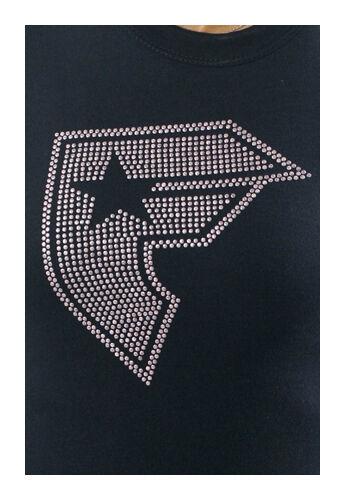 Famous Stars & Straps Noir Rose Clous Chance Boh T-Shirt Taille:M