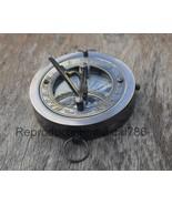 Vintage Brass Navigation Marine Compass Collectible Sundial Pocket Compa... - $14.69