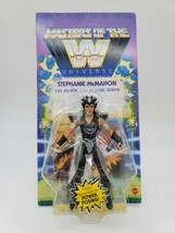 Masters of the WWE Universe Wave 6 Stephaine McMahon Action Figure Unpunched  - $29.99