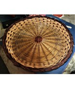 Wicker Rattan Paper Plate Holders  (14 inch in diameter) - $3.90