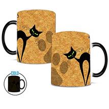 Heat Changing Coffee Mug, Caliamary Cat Heat Sensitive Color Changing Mu... - $22.27